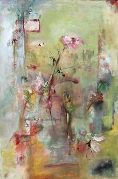 Anemone ~ The artwork of Atlanta-based Kenson is noteworthy and widely collected. Her paintings continue to change and grow as she continues her experimentation with new subjects and media. Kenson's inspiration for painting is largely influenced by her recent life experiences, all of which are revealed on her emotive canvases.