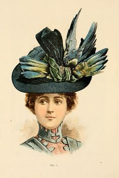 And women's hats were larger than life. | 23 Charming Photos That Prove The Victorian Era Had The Best Fashion