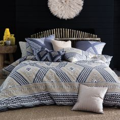 New Kas 'Martinique Neutral' Quilt Cover Set - Double/Queen/King/Super King King Duvet Cover Sets, Quilt Cover Sets, Quilt Sets, Duvet Covers, Neutral Quilt, Neutral Bedding, Ivory Bedding, Cream Bedding, Luxury Bed Sheets
