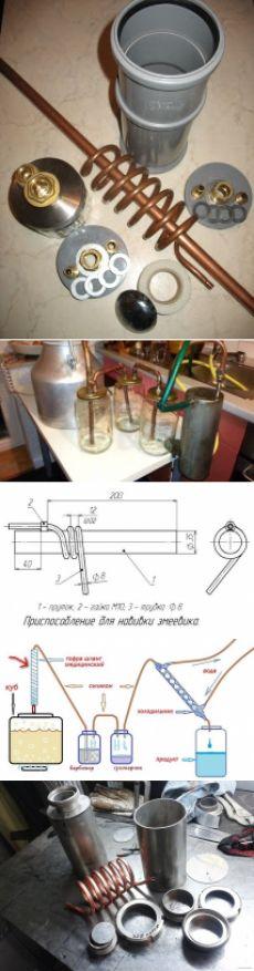 Как самостоятельно сделать высокопроизводительный самогонный аппарат своими руками из подручных материалов. Технология и схемы сборки самогонного аппарата в домашних условиях с наглядными фото