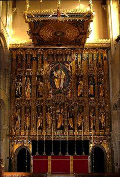 Wymondham Abbey, high altar by Sir Ninian Comper.