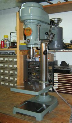 Restoring & Repairing a Vintage South Bend Drill Press Vintage Tool Discussion South Bend Lathe, Bend Machine, Drill Press, Steel Wool, Vintage Tools, Machine Tools, Le Moulin, Restoration, Drills