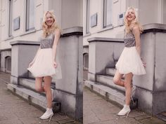 cocorosa: OUTFIT: Sequins and Tulle