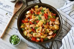 Skillet Sweet and Sour Chicken (Whole30) - The Real Food Dietitians