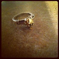 The skull engagement ring
