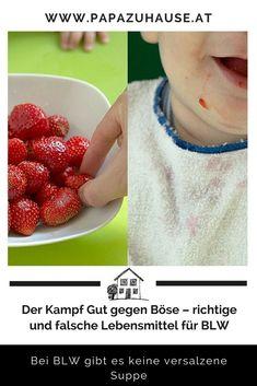 Die große Kunst, die richtigen Lebensmittel für BLW zu finden. Sie ist gar nicht so groß. Du willst wissen, was dahintersteckt und welche Lebensmittel für BLW am besten geeignet sind? Dann setz dich doch zu uns an den virtuellen Esstisch! #blw #babyled Baby Led Weaning, Raspberry, Fruit, Lifestyle, Baby Meals, Ideas For Gifts, Kids Booster Seat, Right Guy, Raspberries