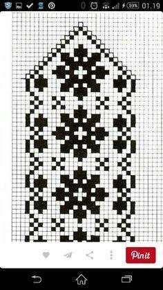 New knitting charts tree filet crochet ideas Knitting Charts, Loom Knitting, Knitting Stitches, Knitting Patterns Free, Free Pattern, Crochet Craft Fair, Crochet Crafts, Crochet Ideas, Knitted Mittens Pattern