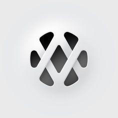 AV logo on Behance — Designspiration
