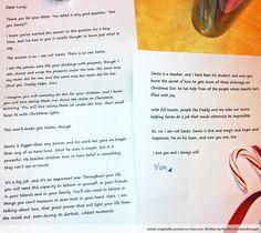 Santa letter for when the kids are older.