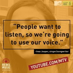 Watch the latest episode of Rebel Music and get inspired by these musicians and activists.
