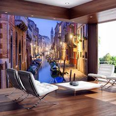 Fotótapéta - Evening in Venice. Melyik a kedvenc városod? Ha Te is rajongsz a Velence-i hangulatért, most otthonodba csempészheted ezzel a csodás fotótapétával. Tedd egyedivé az otthonod!