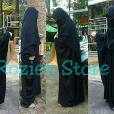 Saya menjual Abaya sahila set jetblack silk plus cadar bandana dan yamaniqob ,niqab handsock seharga Rp400.000. Dapatkan produk ini hanya di Shopee! {{product_link}} #ShopeeID
