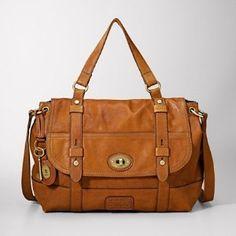 Fossil handbag cross-body or shoulder, great travel bag