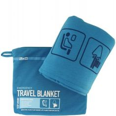 Keep extra warm while you're on the go with the Flight 001 Travel Emergency Blanket. The ultra-soft, lightweight blanket comes in a zip pouch that conveniently doubles as a pillowcase. Car Travel, Travel Packing, Travel Tips, Travel Ideas, Packing Tips, Travel Stuff, Travel Backpack, Travel Advice, Genius Ideas
