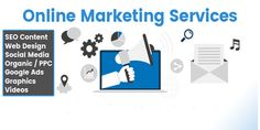 Online Marketing or Internet Marketing, which is an effort of advertising and promoting through the web by using emails and search engines. Online marketing is further divided into SEO, SEM, and SMO i. Business Marketing, Email Marketing, Content Marketing, Internet Marketing, Social Media Marketing, Online Business, Digital Marketing, Online Marketing Services, Seo Services