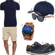 Sommer-Outfit in Dark Navy (m0339) #outfit #style #fashion #menswear #mensfashion #inspiration #shirts #weste #cloth #clothing #männermode #herrenmode #shirt #mode #styling #sneaker