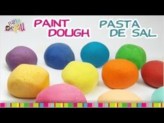 Painting Salt Dough / Pintando la masa de sal - YouTube