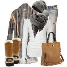warm woolies, created by liz-hooper-gibson on Polyvore