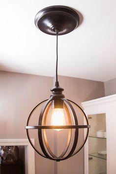 Easy DIY Pendant Light How-To