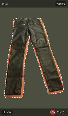 Pants cuero