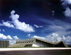 Todd Eberle Photography: The Army General Headquarters II, Oscar Niemeyer, #Brasília, Brazil, 1998