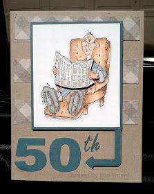 Art Impressions Card Oscar 59th birthday card