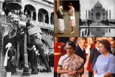 Quand Elizabeth II rencontrait Indira Gandhi et Mère Teresa