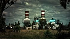 Factory, Creepy, Urban, Abandoned, Dirty, Dark, Empty