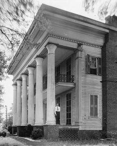 Mount Ida, County Road 11, Sylacauga vicinity, Talladega, AL  Built 1830/died by fire 1959