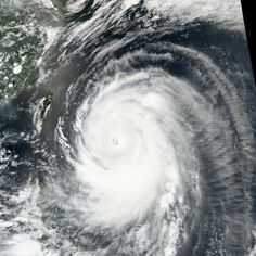 The Suomi-NPP satellite captured this image of the super typhoon churning toward Okinawa and southern Japan on July 7, 2014, at 4:55 Universal Time (1:55 p.m. local time on July 8).