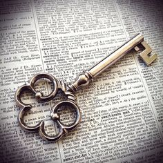 Silver Vintage Key by TimeLessThings on Etsy, $5.00