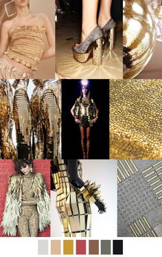 2017 pattern & colors trends: SOLID GOLD