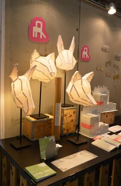Standing lamps by Walkingthings.com