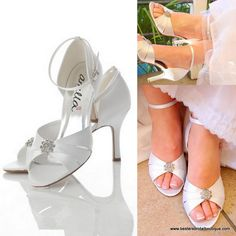 www.bestersbridalboutique.com Bridal Shoes, Wedding, Fashion, Bride Shoes Flats, Valentines Day Weddings, Moda, Bride Shoes, Fashion Styles, Weddings