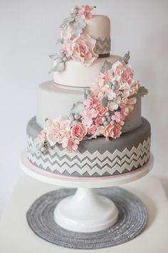 Moderne Hochzeitstorten auf Pinterest  Einzigartige Hochzeitstorten ...