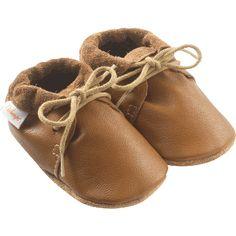 chaussures-bebe-cuir-souple-camel-profil