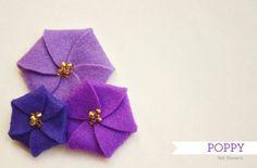 Felt Poppy tutorial and pattern | How Joyful