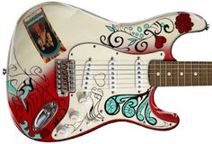 Fender Jimi Hendrix Monterey Pop Strat