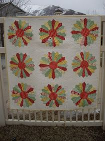 Grab a plate    TheDresdenplate quilt is a classic.  Quilters have been making it for many many years and is still a favorite. I loved...