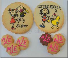 Welcome baby cookies