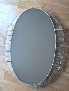 Bathroom back lit mirror