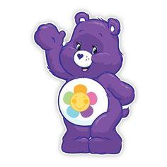 Care Bears Wall Graphics from Walls 360: Harmony Bear Wave