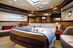 Bedrooms on Blue By You, 50 Foot Azimut Magellano