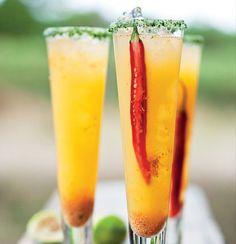 Cape gooseberry and chilli margarita