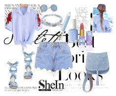 """""""shein"""" by edita100 ❤ liked on Polyvore featuring H&M, Altuzarra, Steve Madden, Skagen, Alex and Ani, Essie and Marc Jacobs"""