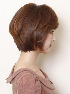 "2013 spring ""modernity × adult"" Short Bob"