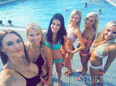 Teen girls (pool)