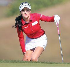 (朝鮮日報日本語版) 女子ゴルフ:JLPGAデビュー「セクシークイーン」アン・シネに大歓声