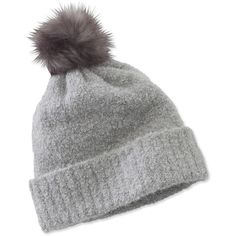 L.L.Bean Signature Signature Boucle Hat ( 39) ❤ liked on Polyvore featuring  accessories 20d76092348