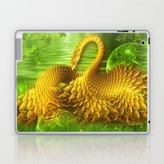 The Conversation  Laptop & iPad Skin by Giada Rossi - $25.00